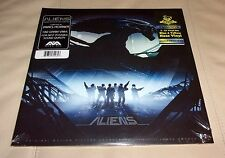Aliens James Horner Sealed 2 LP Blue Yellow Vinyl Limited 500 Made Mondo