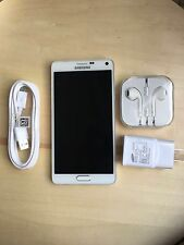 NEW Samsung Galaxy Note 4 N910V-32GB - White (Verizon)! GSM Unlocked! Open Box!