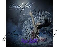 BlessTheFall - Awakening Album SIGNED AUTOGRAPHED 10X8 PRE-PRINT PHOTO