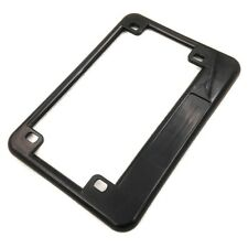 XH Suzuki Yamaha universal bike Motorcycle Black License Plate Frame