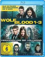 WOLFBLOOD - Complete Series - Season 1,2,3 - BLU RAY Region B/UK - 6 Discs