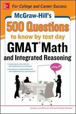 GMAT Math and Integrated Reasoning by Sandra Luna McCune and Carolyn Wheater...