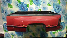 1/18 1993 1995 DODGE RAM 3500 TRUCK RED DUALLY BED & TAILGATE & BUMPER DIE CAST