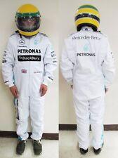 Replica 2014 F1 Mercedes GP Benz Hamilton #44 Kart Racing Suit CIK Level 2