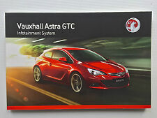 Vauxhall ASTRA GTC & VXR Audio CD 300 400 Navi 600 900 OPERATING INSTRUCTIONS