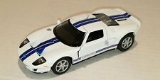 FORD 2006 GT ~ White ~ 1:36 Scale ~ Opening Doors ~ Pull Back action ~ LOOSE