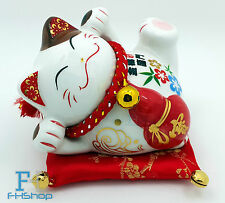 Maneki Neko Feng Shui Lucky Cat Fortune Wealth Decoration