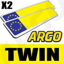 2 CHROME NUMBER PLATE HOLDERS PEUGEOT 106 107 206 207