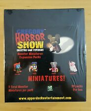 "Gregory Horror Show Monster Miniature Expansion Box Set ""20 Packs"" New & Sealed!"