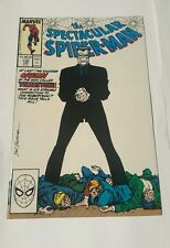 the spectacular spiderman # 139 tombstone