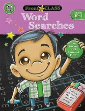Front of the Class: Word Searches, Grades K - 1 (2016, Paperback)