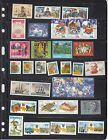 Ukraine Complete year set of 2001 of 44 stamps and 7 souv/sh MNH