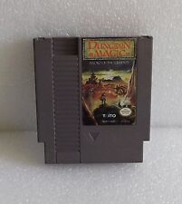 1990 NINTENDO NES DUNGEON MAGIC SWORD OF THE ELEMENTS GAME CARTRIDGE ONLY WORKS