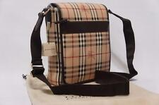 BURBERRY WARDOUR HAYMARKET CHECK LARGE MESSENGER BAG