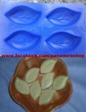 Leaf Leaves Silicone Soap Chocolate Fondant Clay Jelly Mold Molder