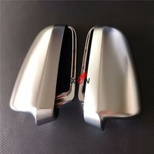 Rearview Rear View Mirror Shell Cover Trim Caps For Audi A6 S6 C6 4F 2004-2008