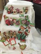 Lot Of 24 Cracker Barrel Old Country Store Christmas Ornament NWT