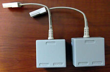 TWO High Quality Broadband/Telephone Micro Filter / Splitter Brand New