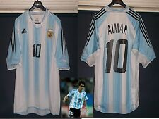 Argentina 2003 football shirt Pablo Aimar adults Valencia Benfica used v.good