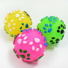 Pet Paw Sound Dog Toys Ball For Small Dogs Squeaky Chew Toy Supplies Funny