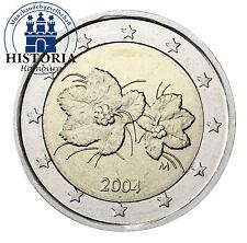 Finnland 2 Euro Kursmünze 2004 bfr. Moltebeere