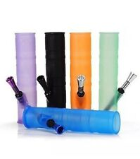 "Portable 8"" Silicone Roll-up Roll-uh-bowl Water Hookah - USA ����"
