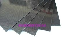 400×250×1.5mm With 100% Carbon Fiber plate panel sheet 3K plain + 3M Tapes