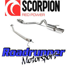 SCORPION Colt CZT Ralliart 1.5t DI SCARICO SECONDARIO de-cat & Cat Indietro RES DAYTONA