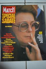 paris match 1691 23/10/1981 spécial sadate, niki lauda, mel brooks