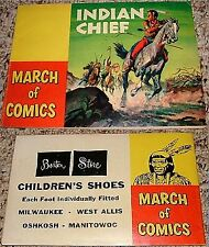 MARCH OF COMICS 94 INDIAN CHIEF RARE MINI GIVEAWAY PROMO 1953 PROMOTIONAL F+/VF-