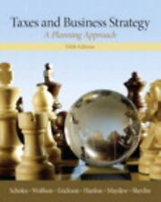 NEW Taxes & Business Strategy (5th Edition) (International Global Edition)