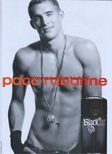 Paco Rabanne Black XS Fragrance 2008 Magazine Advert #2681
