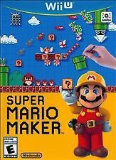 Super Mario Maker (Nintendo Wii U, 2015) BRAND NEW & FACTORY SEALED!!