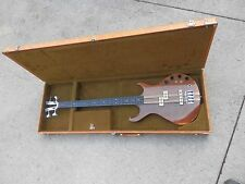 VTG KRAMER DMZ 5000 Electric Bass Guitar Aluminum Neck Original Case fretless