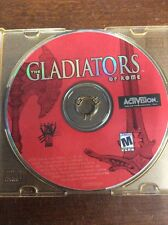 The Gladiators of Rome - PC Computer CD Video Game by Activision Disk Only