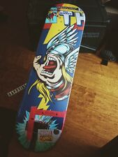 MARVEL Santa Cruz Skate Board Deck THOR SIGNED by STAN LEE COMICS Collectible