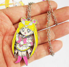Hot Sailor Moon Pretty Soldier Pendant Necklace Cosplay jewelry