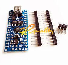 2PCS MINI USB Nano V3.0 ATmega168 16M 5V Micro-controller CH340G For Arduino