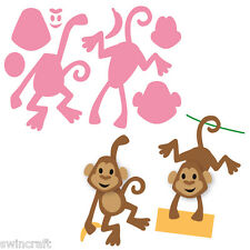 Marianne Design COLLECTABLES Cutting Die Cuts Felt - ELINE'S MONKEY COL1399