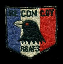 Philippine Air Force RSAF-3 Recon PV-10 Bronco Patch RP-2
