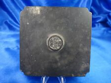 "Antique Chinese Bronze Mirror Square 3"" Very Old"