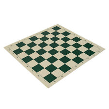 "20"" Vinyl Chess Board – Tournament Size for Set - Green - 2.25 Inch Squares"