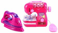 Magical Angel Pretend Play Iron Sewing Machine Bubble Toy Kitchen Ages 3+ Girls