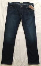 GUESS Alameda Men's Jeans 38 x 32 Slim Fit Tapered Leg Ace-High Wash NWT $89