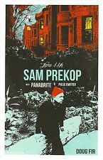 SAM PREKOP 2015 Gig POSTER Portland Oregon Concert THE SEA AND CAKE