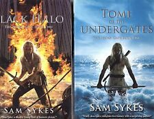 Tome of the Undergates / Black Halo Books 1 & 2  Sam Sykes Aeons' Gate SB Lot