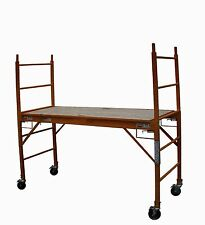 Scaffold STEEL Mobile Standing Height 1.9 Metres Scaffolding High Work Platform