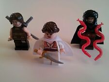 Lot 3x New LEGO Prince of Persia Dastan Tamina Hassanssin Battle Pack