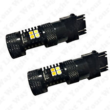 Bright Switchback DRL Parking Signal LED + Resistors for 2013-2015 Accord Coupe