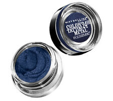 ELECTRIC BLUE Maybelline EyeStudio Color Tattoo METAL 24 Hr Cream Gel Eyeshadow